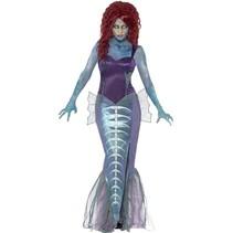 Zombie zeemeermin kostuum