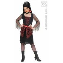 Vampierster meisje kostuum