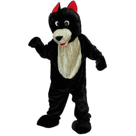 Wolf dierenkleding groot pluche