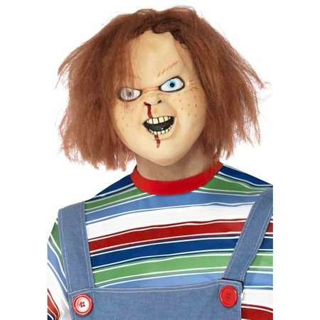 Chucky masker met haar