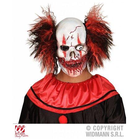 Masker bloederige clown met haar
