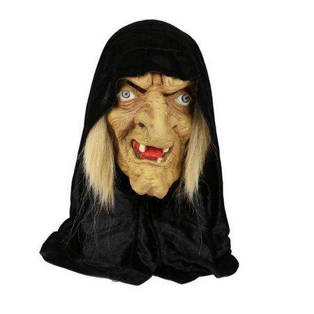 Masker Heks met kap