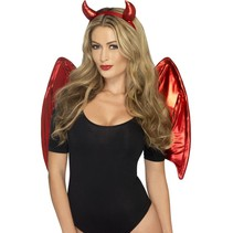 Naughty metallic Devil set