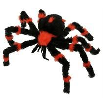 Nepspin zwart/oranje 60cm