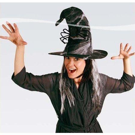Heksenhoed met Haar, Spin en Web