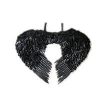 Engelen vleugels zwart veren volwassen