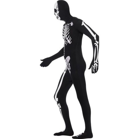 Second skin pak skelet glow in dark