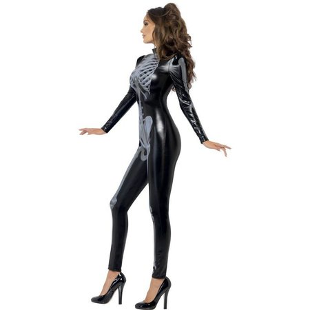 Fever sexy Skeletten catsuit