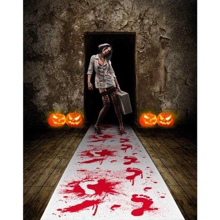 Halloween Loper met Bloed - 4,5 mtr x 60 cm