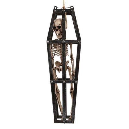 Deco Skull in kooi 90cm