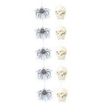 Hangdecoratie spin/doodskop