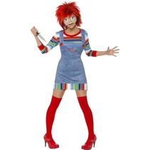 Chucky kostuum vrouw