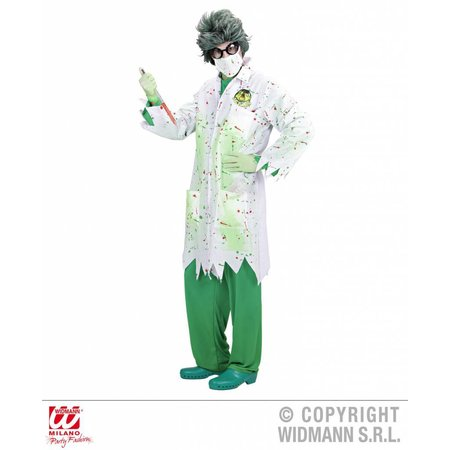Dr. Toxic Laboranten outfit