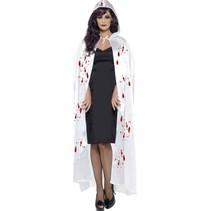 Halloween cape met bloedspetters