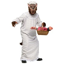 Grote boze wolf kostuum