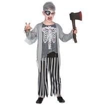 Zombie piraat kind