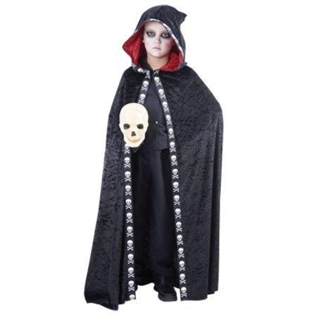 Cape Halloween doodskop kind