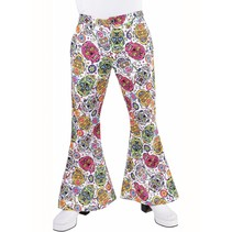 Hippie broek mexican skull man