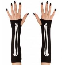 Vingerloze handschoenen met botjes