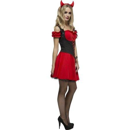 Fever duiveltje kostuum dames