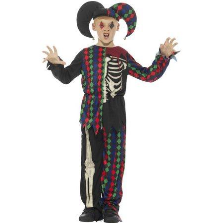 Joker skelet kostuum kind