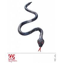 Buigbare zilveren slang 80cm