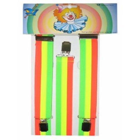 Bretels Rainbow Fluor
