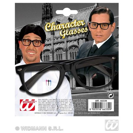 Bril karakter zwart