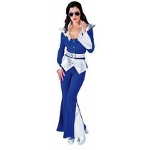 Disco Queen Space kostuum vrouw