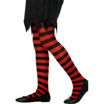 Panty kind rood/zwart