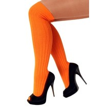 Kniekousen oranje