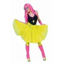 Petticoat fluor geel