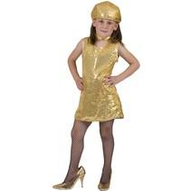 Disco pailletten jurkje kind