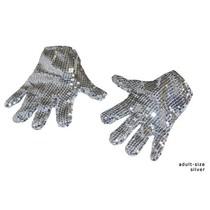 Handschoenen Michael Jackson zilver