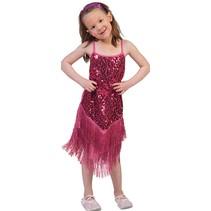 Flapper Disco Jurkje pink