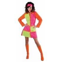 60's fluor dress