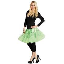 Petticoat rok neon groen