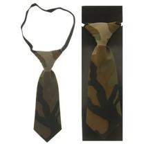 Mini stropdas leger camouflage
