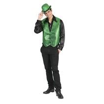 Gilet heren groen