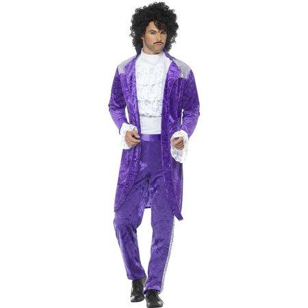 80's Purple Prince kostuum
