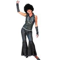 Boogie Queen jumpsuit zwart