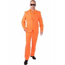 Oranje Kostuum Man