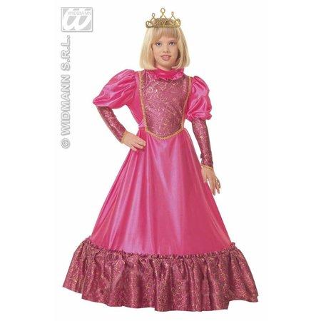 Prinses kleding middeleeuwen kind