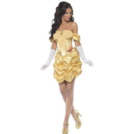 Fever gouden Prinses jurkje