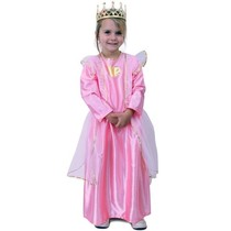 Prinses roze met hartje goud
