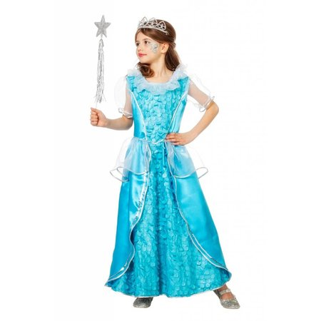 Ijsprinses jurk kind
