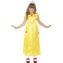 Klein prinsje kind geel