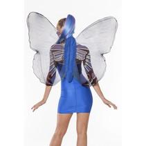 Vlindervleugels volwassen blauw