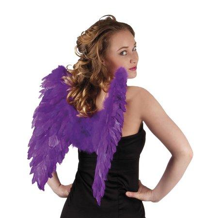 Engelen vleugel paars 50x50cm