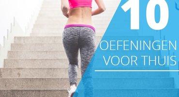 10 oefeningen die je overal kan doen